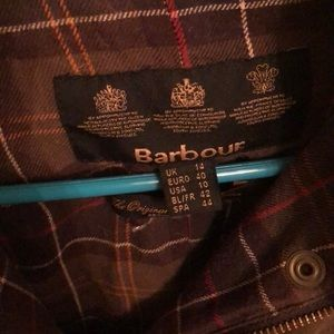 Barbour boutique jacket